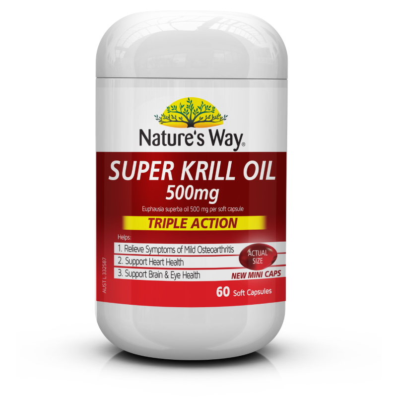 Super Krill Oil 500mg 60s