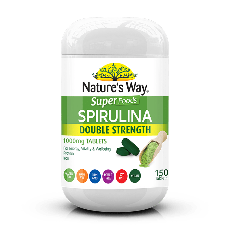 Nature's Way SUPER SPIRULINA TABS 150s