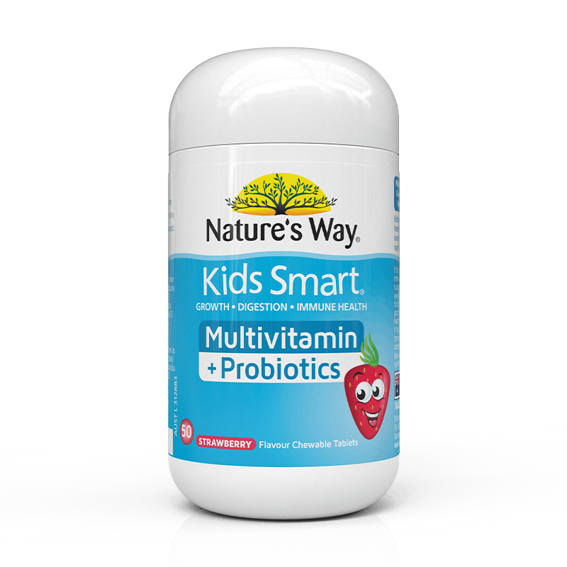 Nature's Way Kids Smart Multivitamin+Probiotics