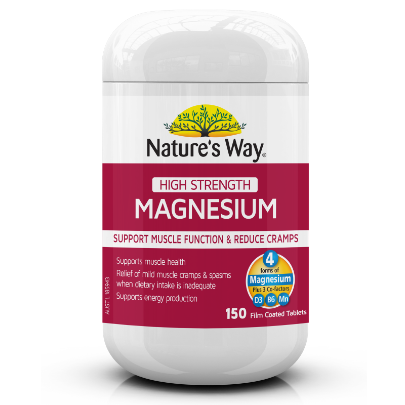 NATURE'S WAY HIGH STRENGTH MAGNESIUM 150s