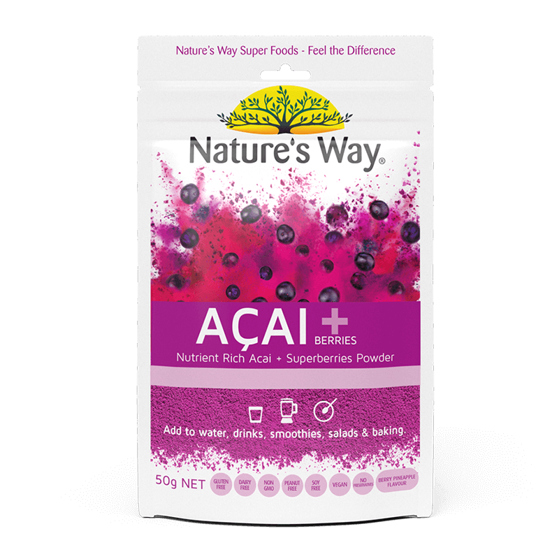 Nature's Way SUPERFOODS ACAI + BERRIES 50g