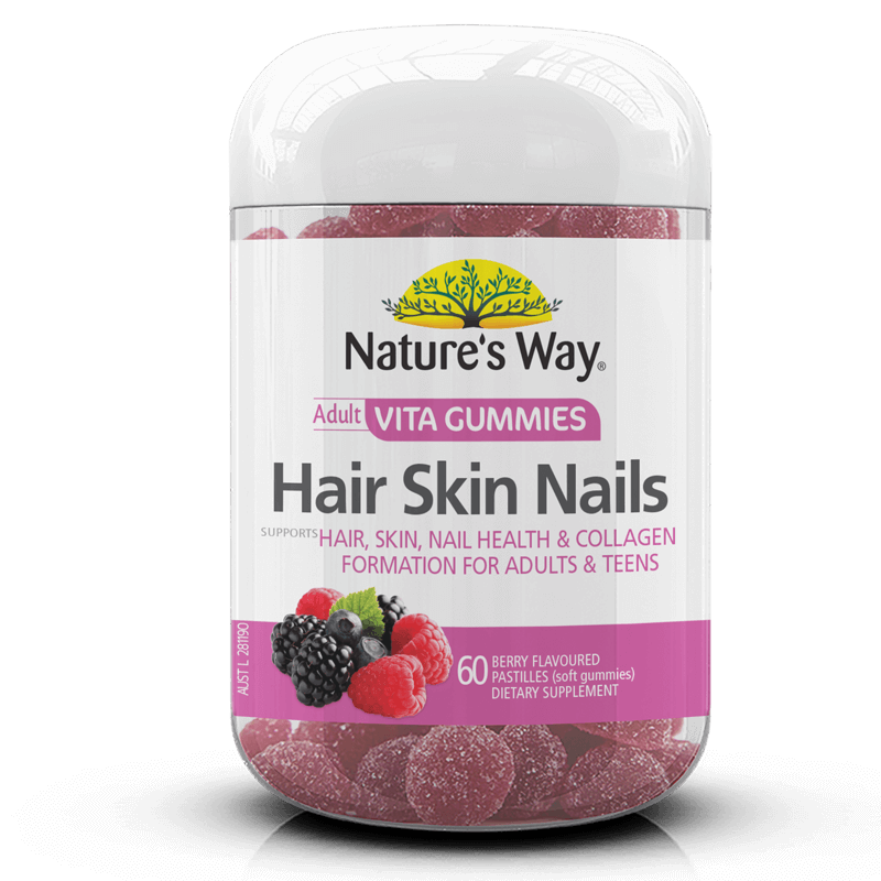 Nature's Way VITAGUMMIES HAIR SKIN NAILS 60s