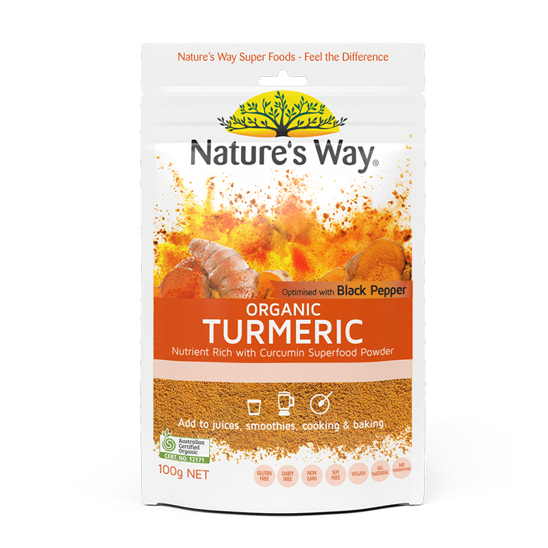 Nature's Way  SUPERFOODS TURMERIC POWDER 100g