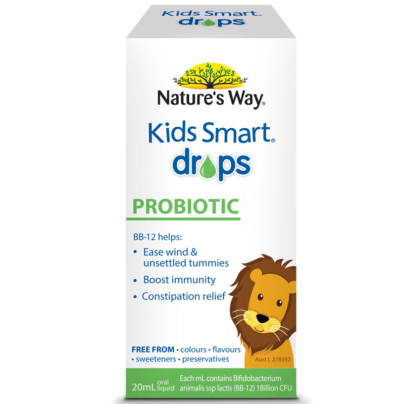 KIDS SMART DROPS PROBIOTIC 20ml