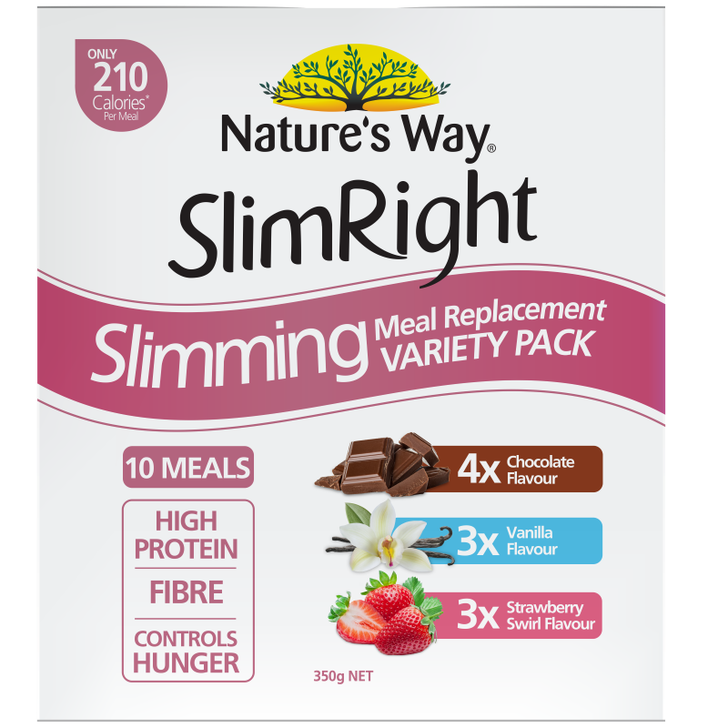 NW SlimRight Meal Replacement Variety Pack 350g