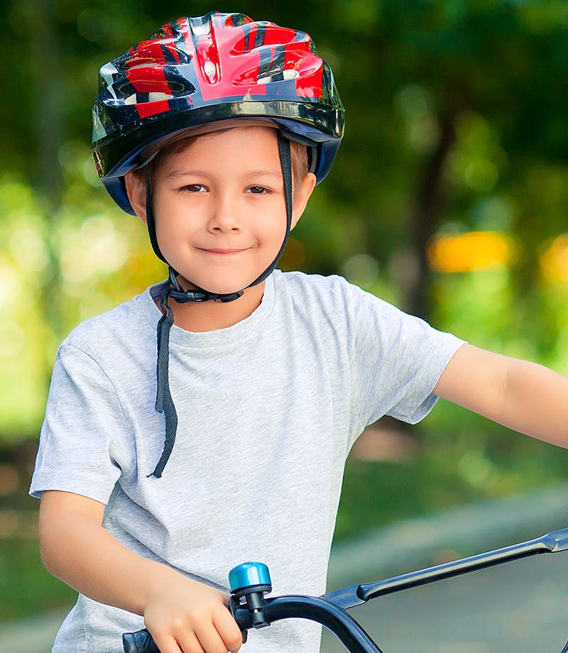 Does cycling to school encourage healthy kids