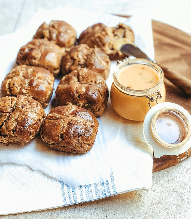Healthy Hot Cross Buns By Keira Rumble