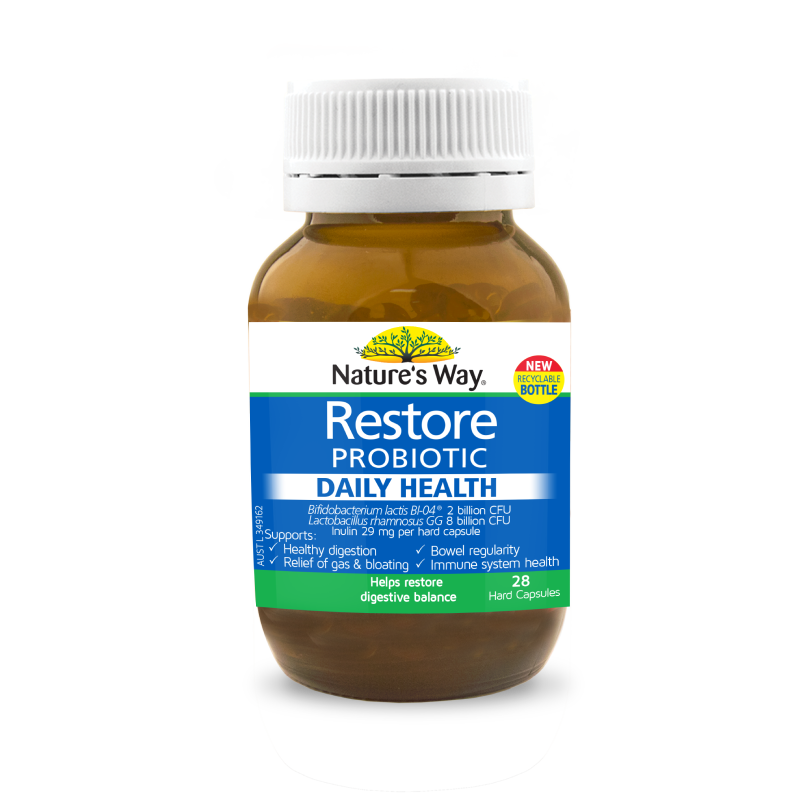 Nature's Way Restore Probiotic Daily Health 28s