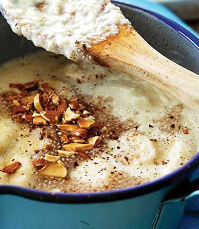 Banana, Maca and Quinoa Porridge