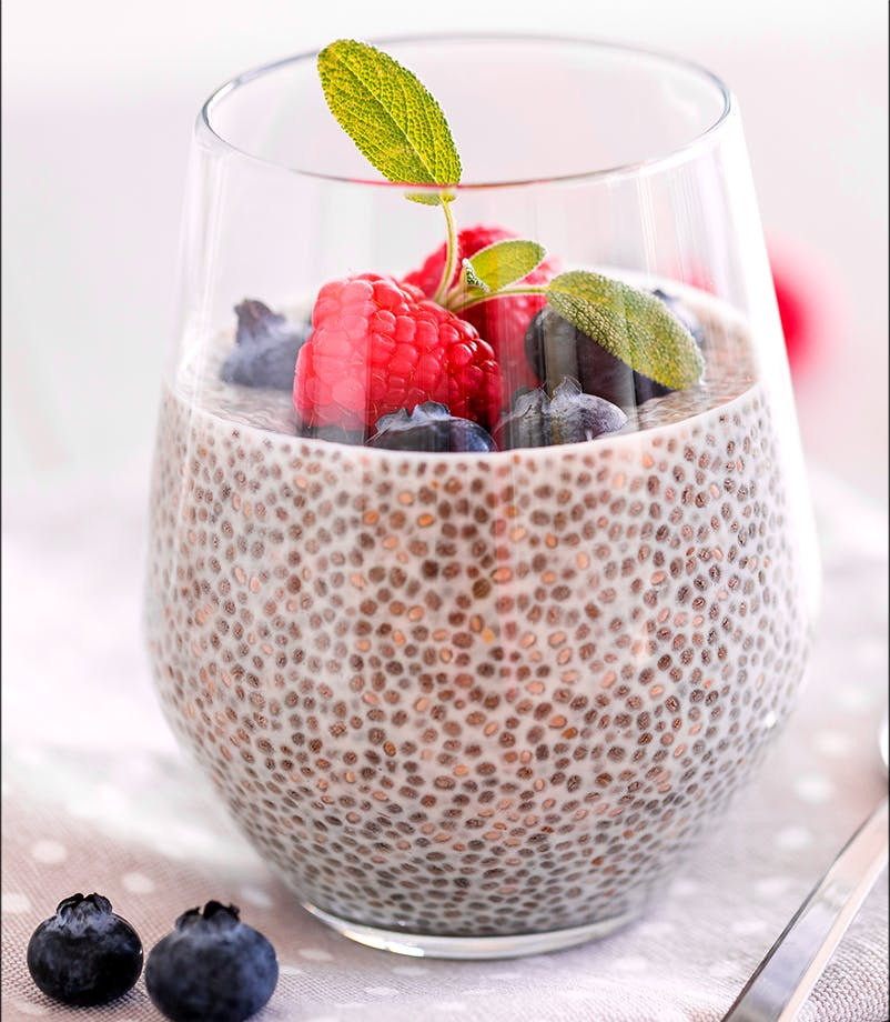 Coconut and Chia Seed Pudding