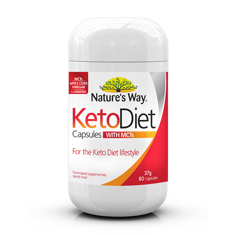 Nature's Way Keto Diet Capsules 60s