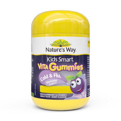 Nature's Way Kids Smart Vitagummies Cold & Flu, Immunity 60s
